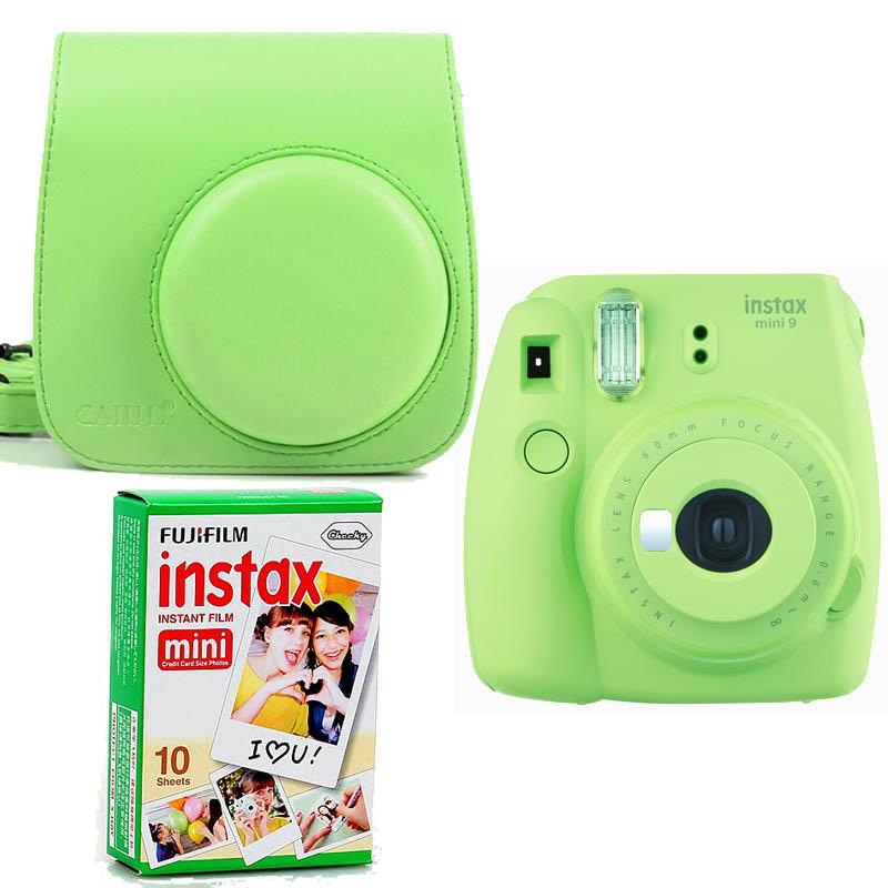 Fujifilm Instax Mini 9+ Film+ Tok lime kit