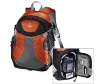 Hama Bormio 140 narancs/fekete hátizsák