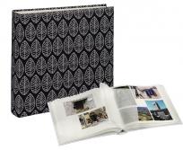 Hama Jumbo Fleur fekete fotóalbum