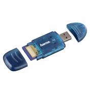 Hama USB 2.0 SDXC Stick kártyaolvasó kék