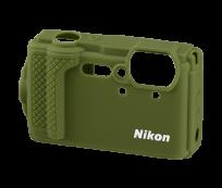 Nikon W300 zöld szilikon védõburkolat