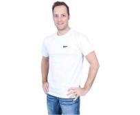 Nikon póló fehér fekete logóval L méret