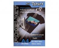 Pixeljet Art Tshirt black fekete pólóra vasalható fólia