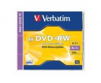 Verbatim DVD RW  újraírható lemez 4x normál tokos