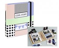Hama COOL STORY bedugós album Instax fényképekhez 56db-os