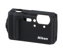 Nikon W300 fekete szilikon védõburkolat