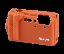Nikon W300 narancssárga szilikon védõburkolat
