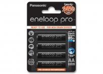 Panasonic Eneloop pro NiMh AA  akku  2500mAh 4db-os