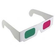 3D szemüveg magenta zöld papírkerettel