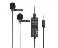BOYA BY-M1DM Dual Lavalier mikrofon