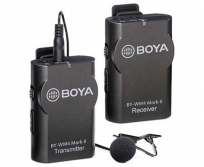 BOYA BY-WM4 Mark ll 2.4 GHz vezeték nélküli adóvevő mikrofon