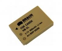 Braun NB-5L/Canon LI-ion 3,7V 900mAh akkumulátor