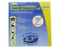 """Dörr LCD védő fólia 2,7"""" 2db"""