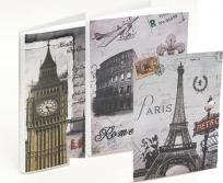FP 10x15/36 London Róma Párizs fotóalbum