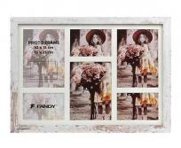 Fandy Narvik Gallery 05  koptatott fehér fa képkeret