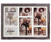 Fandy Narvik Gallery 05  bordázott barna fa képkeret