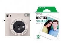 Fujifilm INSTAX SQUARE SQ1 fehér +10SH FILM CHALK WHITE