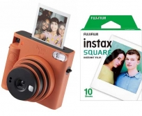 Fujifilm INSTAX SQUARE SQ1 narancs +10SH FILM TERRACOTTA ORANGE