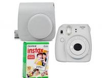 Fujifilm Instax Mini 9+ Film+ Tok fehér kit