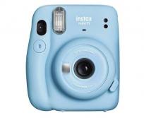 Fujifilm Instax Mini 11 Sky Blue instant fényképezőgép