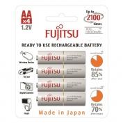 Fujitsu 1900mAh akkumulátor 4 db-os