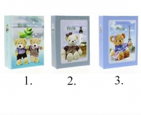 Gedeon 9x13/100 Bears baby fotóalbum