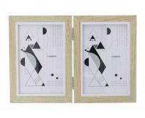 Gedeon  10x15 WA10 dupla zsanéros képkeret