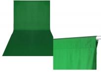 Greenbox textil háttér 3x6m