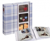 Hama 10x15/200 Isny kék fotóalbum