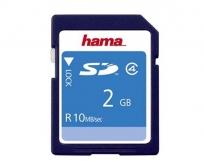 Hama 2GB SD 10Mb/s memóriakártya