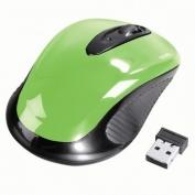 Hama AM-7300 vezeték nélküli optikai egér zöld