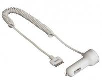 Hama Iphone/fehér szivargyújtós töltő