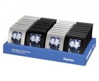 Hama Portré 5x8cm fekete/ezüst képkeret