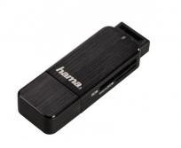 Hama USB3.0 SD/microSD fekete kártyaolvasó