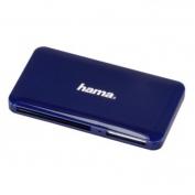 """Hama USB 3.0 Superspeed """"Slim"""" multi kártyaolvasó kék"""