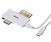 Hama USB univerzális Slim kártyaolvasó
