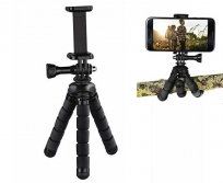 """Hama  """"FLEX"""" mini állvány mobiltelefon és akciókamera adapterrel"""