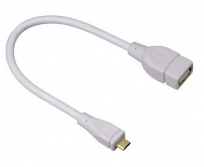 Hama Micro USB OTG adapter fehér