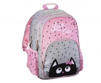 """Hama iskolatáska hátizsák """"FUNNY CAT"""""""