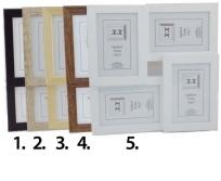 Konvenció 10x15/4db-os B.kat képkeret