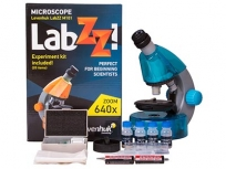 Levenhuk LabZZ M101 Azure mikroszkóp