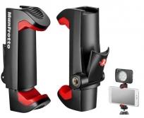 Manfrotto PIXI Clamp univerzális telefon tartó multi csatlakozással