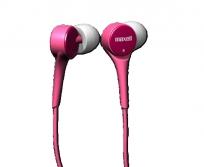 Maxell Juicy Tuner pink füllhallgató