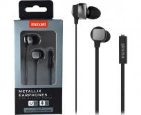 Maxell Metallix fülhallgató mikrofonnal szürke