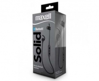 Maxell Solid Bluetooth Earphones Fekete