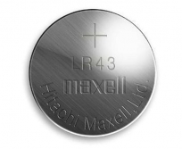 Maxell gomb elem  LR43  1,5V
