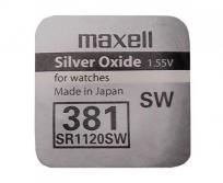 Maxell gombelem 391 SR1120