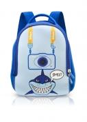 Nikon hátizsák kék cápa
