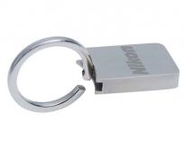 Nikon kulcstartó szögletes fém