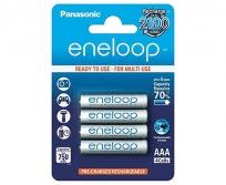 Panasonic Eneloop AAA NiMh akku 4db-os
